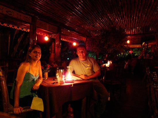 Fond Doux Plantation & Resort: Evening dinner at Fond Doux