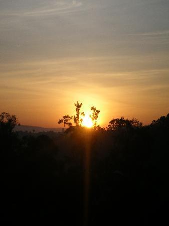 Stipp Hotel Kacyiru: morgentlicher Blick aus dem Hotelfenster