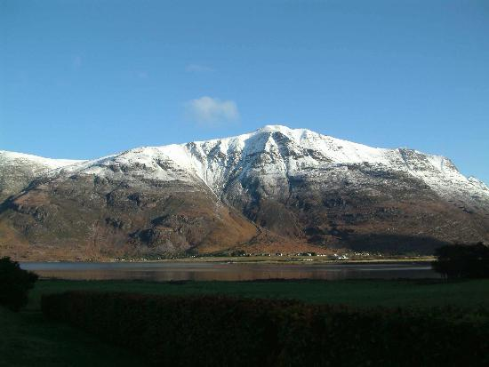 Torridon, UK: View from outside reception