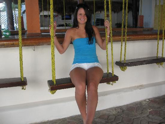 Swing Bar Next To Blue Parrot In Playa Picture Of Grand