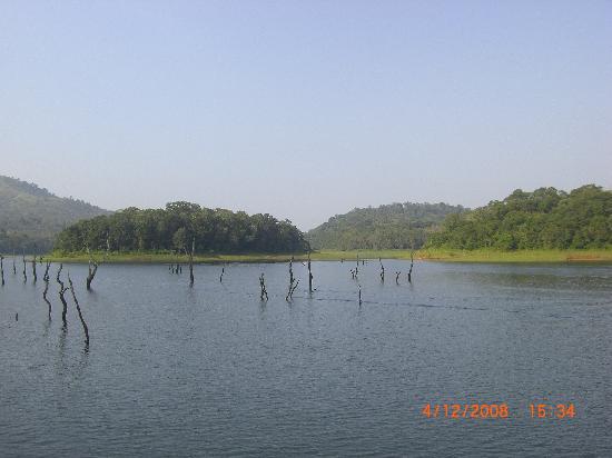 Thekkady, India: Periyar Lake