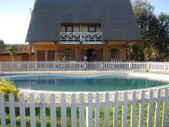 Pool at Grace Lodge