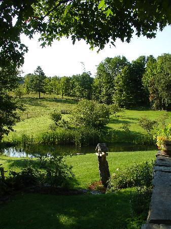 The Inn at Round Barn Farm : Back garden