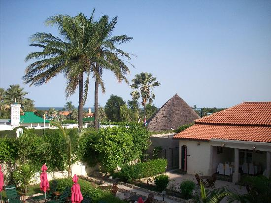 Seaview Gardens Hotel : View from the balcony