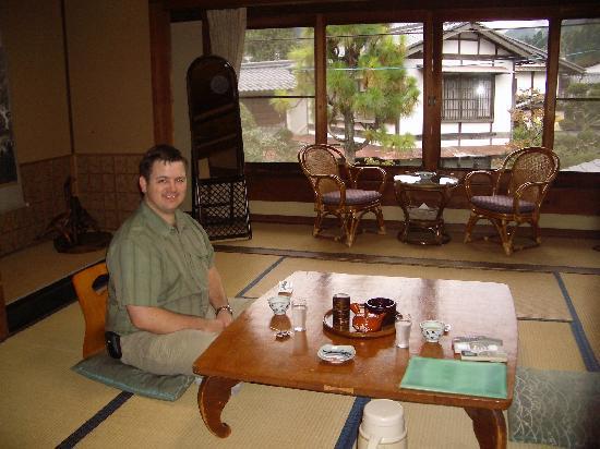 Ryokan Fujioto: Our sitting room