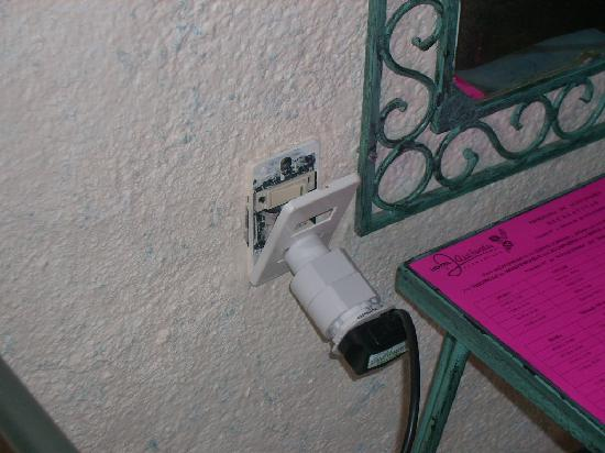 Hotel Jacarandas: i only plugged it in.