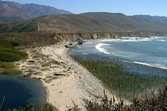 Andrew Molera State Park : The beach and Bluffs beyond