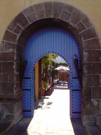 Restaurant Cafe La SQALA : entrance