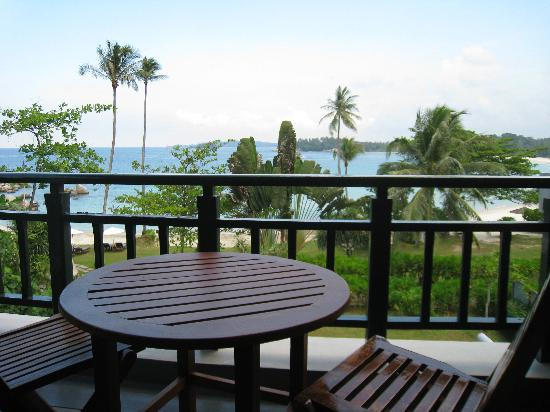 Angsana Bintan : View from our room