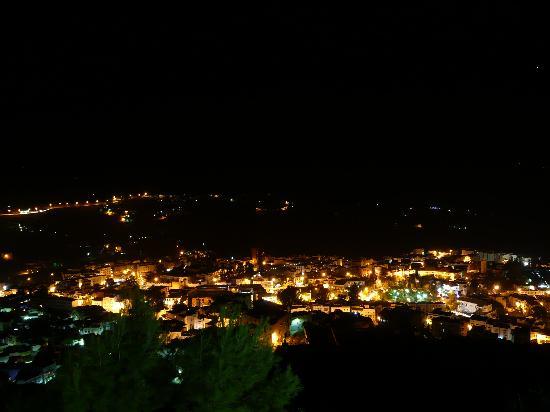Hotel Atlas Chefchaouen: Vista notturna dalla camera