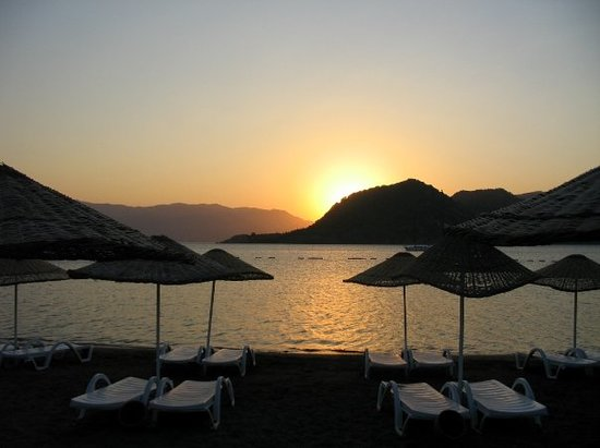 Icmeler, Turkey: sunrise