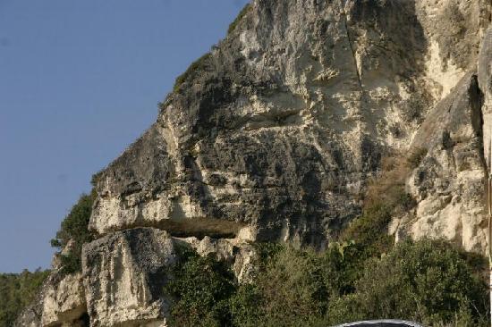 Lion's Hotel: roccia Leone