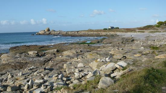 Lesconil, Франция: plage à marée basse