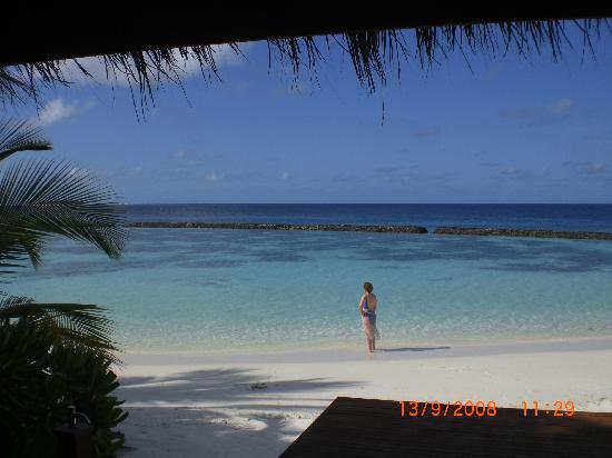 Baros Maldives: View from Baros Villa 214.
