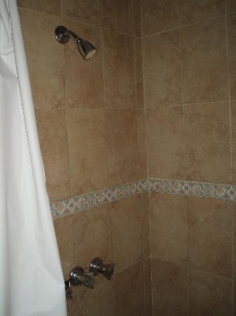Hotel La Danae : Shower, la Danae hotel