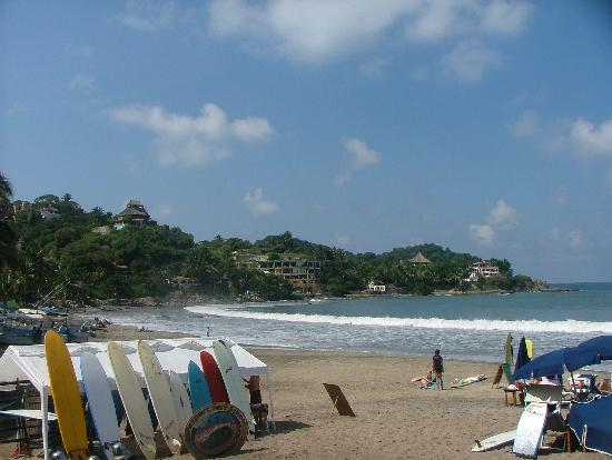 Hotel Riu Palace Pacifico: The town of Sayulita