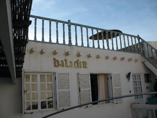 Riad Baladin : terrazza