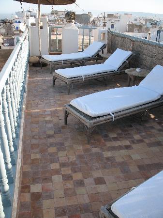 Riad Baladin : terrazzo solarium