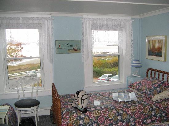 Blue Shutters Beachside Inn : Une très jolie vue de notre chambre
