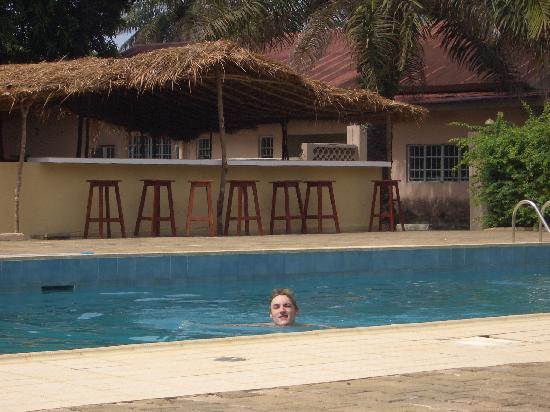Lungi, Sierra Leone: The pool