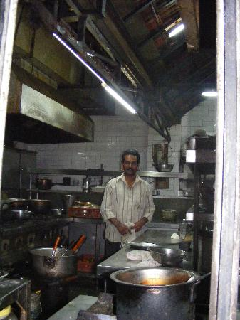 Hotel Surana Palace: the Kitchen