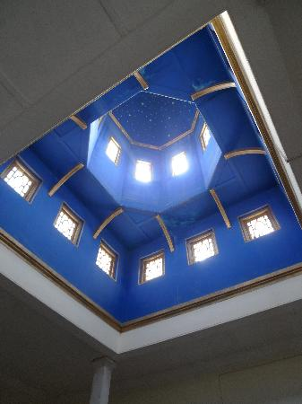 WelcomHeritage Sheikhpura Kothi: Au dessus de l'escalier!!!