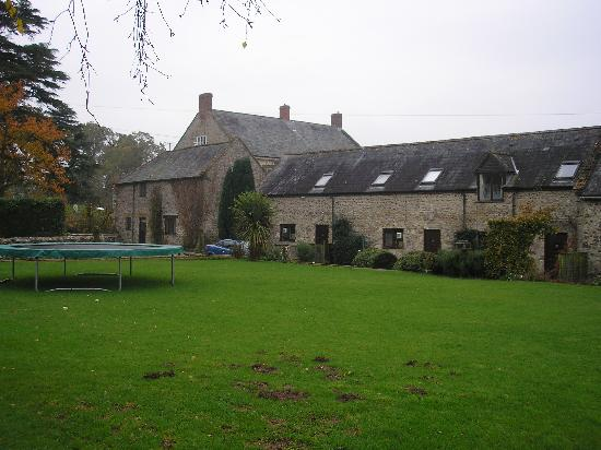 Bere Farm Cottages: Front of cottages