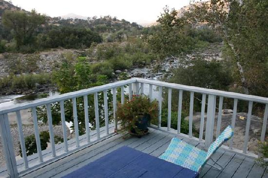 Rio Sierra Riverhouse: Room with a view