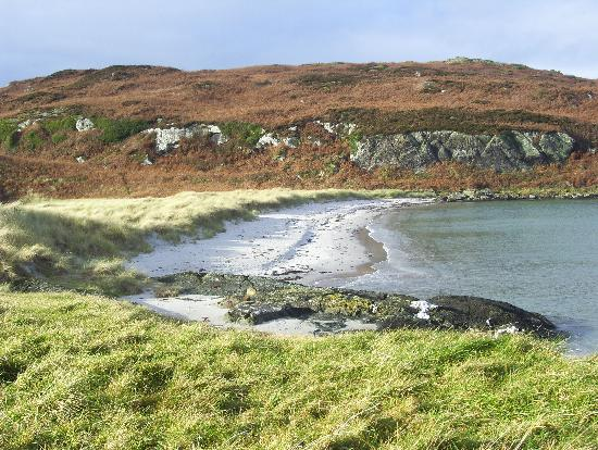 Isle of Gigha, UK: One of the Gigha beaches