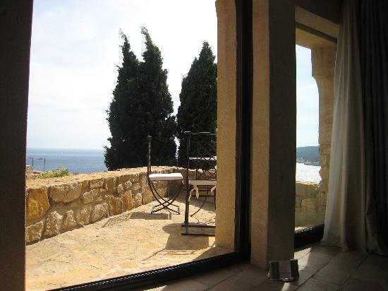 Chateau de Cassis: Vue depuis la chambre