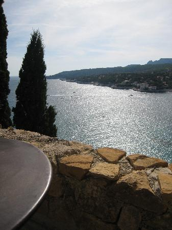 Chateau de Cassis: Vue de la terrasse de notre chambre