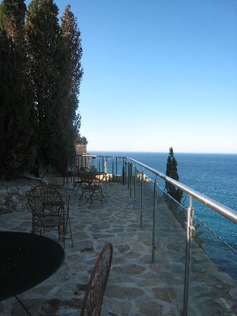 Chateau de Cassis: Terrasse de l'hotel