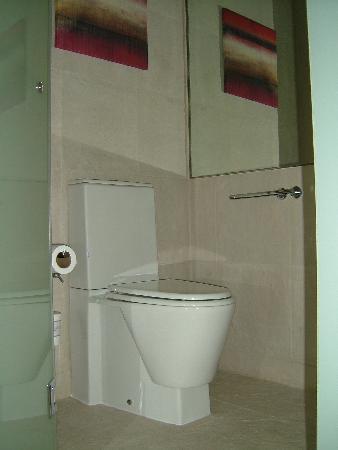Vida Downtown: toilet cubicle