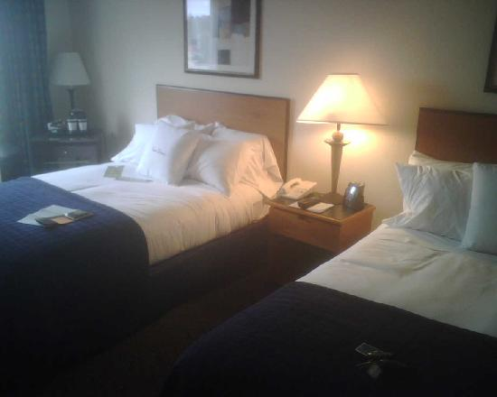 Richmond Airport Hotel: Simple Double Queen