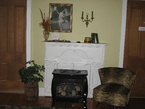 City Lights Inn: Fireplace - North Suite