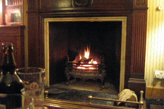 Oatfield Country House B&B: Fireplace in sitting room