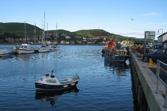 Oatfield Country House B&B: Campbeltown Scenery