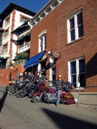 Hotel San Ramon: Biker Friendly