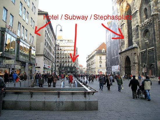 Hotel Wien Stephansplatz