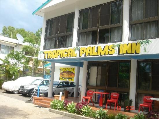 Tropical Palms Inn: Friendly service
