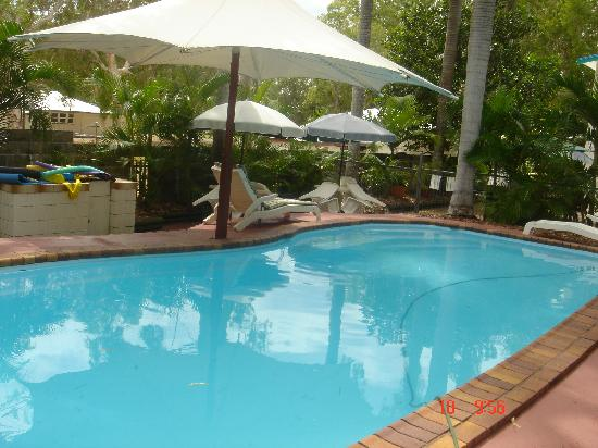 Tropical Palms Inn: Stay cool