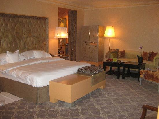 Carlton Hotel St. Moritz : bed