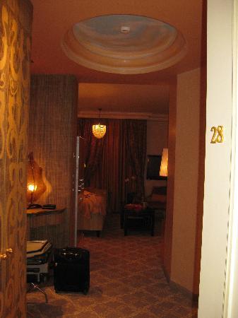 Carlton Hotel St. Moritz: entry