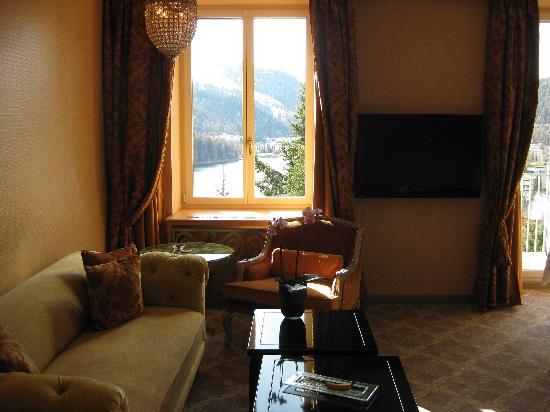 Carlton Hotel St. Moritz: sitting area