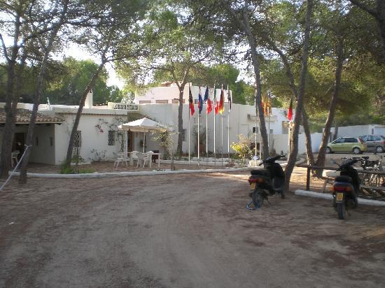 Hotel Casbah Formentera: veduta dell'ingresso reception