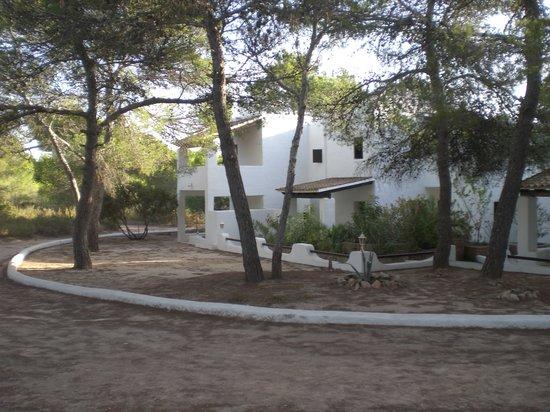 Hotel Casbah Formentera: le stanze - esterno