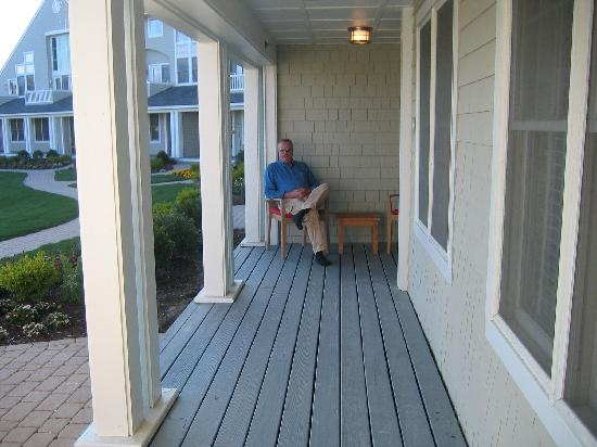 Inn By the Sea: Our Private Porch