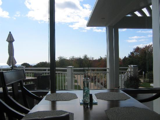 Inn by the Sea: Dining Room with a view