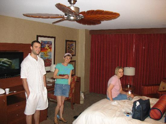 Isle Casino Hotel Waterloo: Family in the room