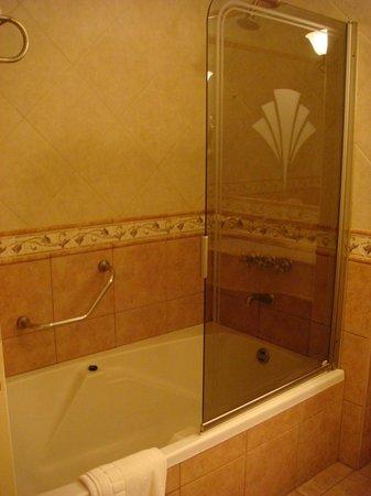 Villa Mercedes, Argentina: Bañera ducha